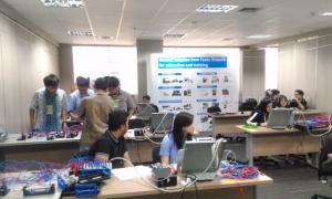Mechatronics Day 3, Ajang Perlombaan Membuat PLC