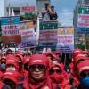 Berita Foto: Peringatan Hari Buruh Sedunia di Jakarta