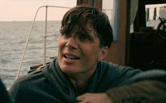 Cillian Murphy pada Dunkirk. (Foto NME)