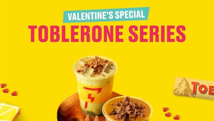Rayakan Hari Kasih Sayang dengan Menu Flash Coffee x Toblerone