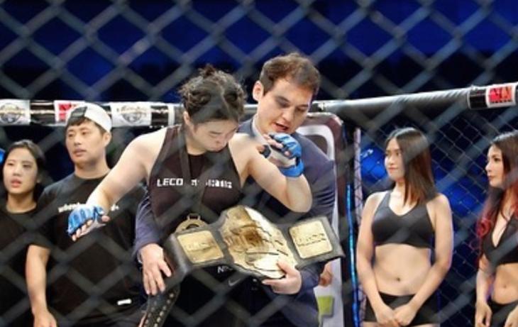 Perempuan Petarung MMA Ini Ternyata Keponakan dari RM BTS