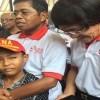 Keharuan Warnai Kunjungan Mensos Idrus Marham dan Kak  Seto di Kediaman Aipda Denny