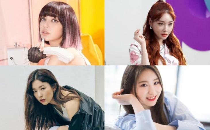 Empat idola perempuan yang jago menari. (Foto: Instagram)
