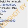 [HOAKS atau FAKTA]: Pertamina Bagikan Subsidi Rp 189 Juta