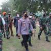 Panglima TNI-Kapolri Tinjau Langsung Vaksinasi di Daerah yang Alami Lonjakan Kasus COVID-19