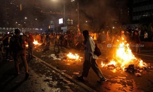 Pensiunan Jenderal Pendukung Prabowo Dalangi Kerusuhan 21-22 Mei, BPN: Hoaks!