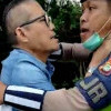 Tak Terima Ditilang, Seorang Pengedara di Tol Angke Nekat Cekik Polantas