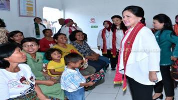 Ibu Iriana Kampanye Pola Asuh Berbasis Karakter di Toba Samosir