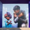 Mural Chadwick Boseman Warnai Tembok Disneyland
