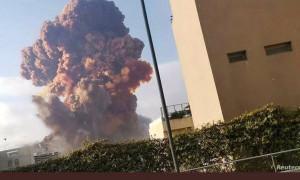 Presiden Lebanon Sebut Ledakan Akibat Timbunan 2.750 Ton Amonium Nitrat