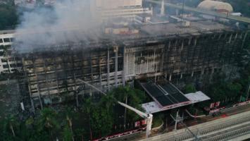 Diperiksa di Belasan Titik, Kebakaran di Gedung Kejagung Masih Misterius