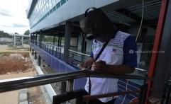 Menengok Pembangunan Terminal Bus Pondok Cabe Baru