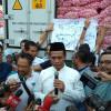 Sidak ke Pasar Kramat Jati, Mentan Pastikan Harga Bahan Pokok Stabil