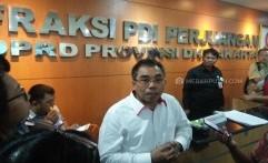 Tak Setuju Anggaran TGUPP Rp26,5 Miliar, PDIP Saran Ambil dari Dana Operasional Gubernur