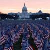 200 Ribu Bendera Hiasi Hari Pelantikan Joe Biden dan Kamala Harris