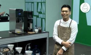 Santoso Ardiansyah Tampil Percaya Diri di World Coffee Championship 2021