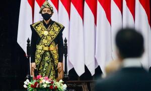 Jokowi Ungkap Kekesalannya Terhadap Lawan Politik Lewat Pidato Pancasilais dan Agamis