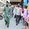 Pantau Kedisiplinan Warga, Panglima TNI dan Kapolri Sidak Pasar Tanah Abang