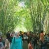 Ada di Tengah Hutan Bambu, Pasar Tradisional Ini Manjakan Pencinta Kuliner