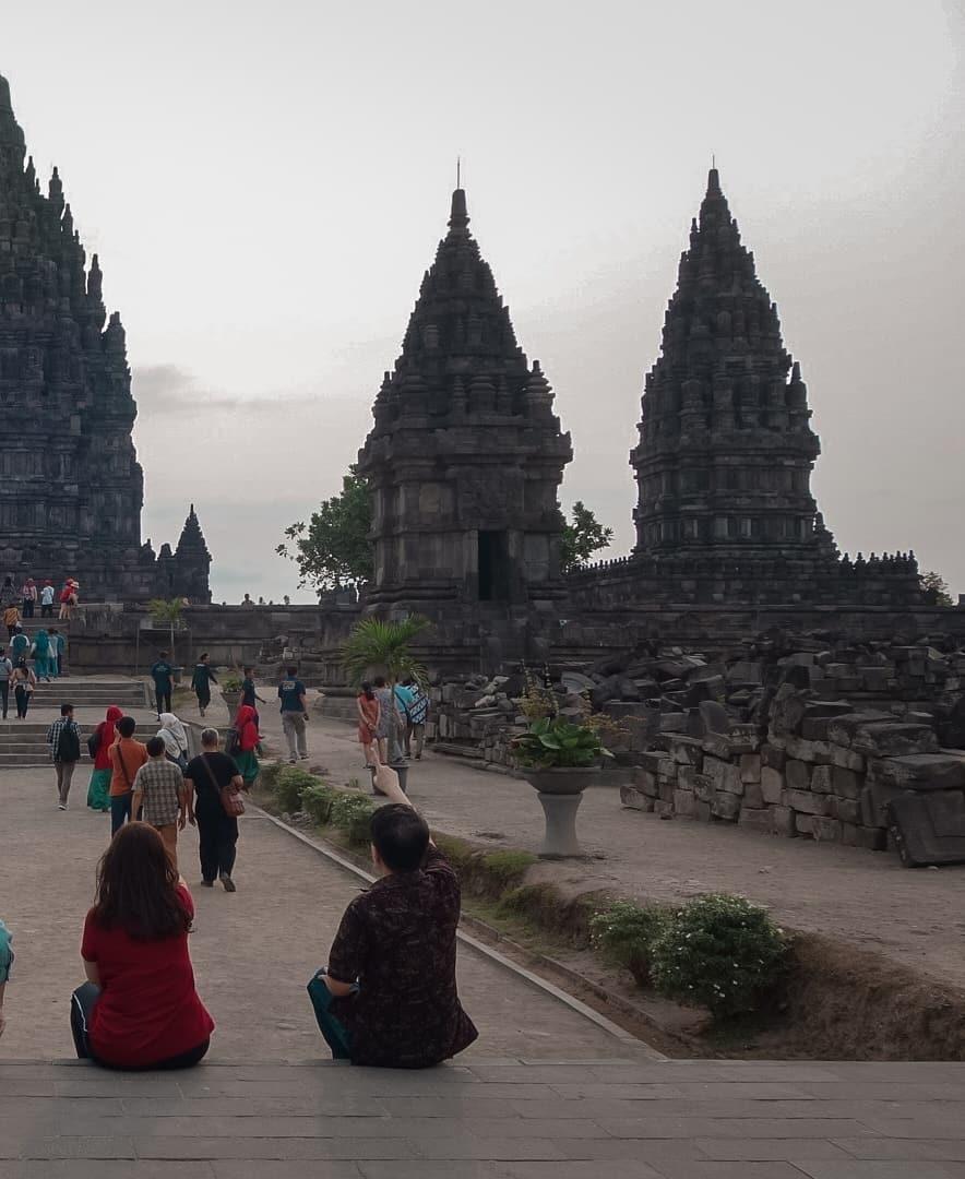 Cndi Prambanan (Instagram/ferrywid)