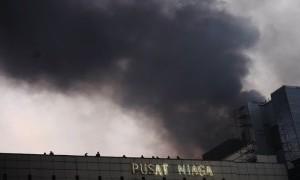 Polisi Segera Olah TKP di Area Kebakaran Gedung Niaga PRJ