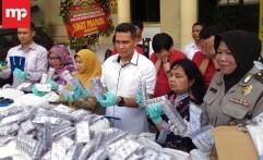 Polisi Tangkap Pengedar Pil Koplo