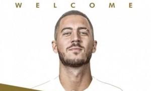 Resmi ke Real Madrid, Eden Hazard Wujudkan Mimpi Masa Kecilnya