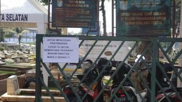 Pemprov DKI Telah Makamkan 1.229 Orang dengan Protap COVID-19