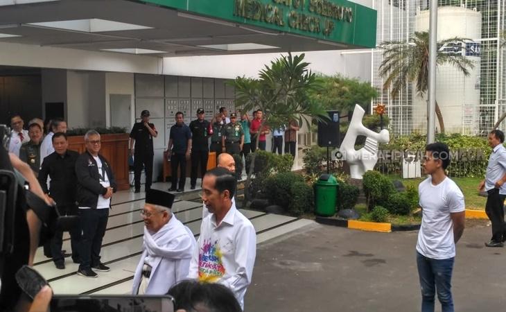 Begini Persiapan Jokowi-KH Ma'ruf Amin Sebelum Jalani Tes Kesehatan