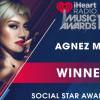 Keren! Agnez Mo Menang Kategori Social Star di iHeartRadio Music Awards 2019