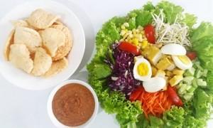 Selada Bangka, Makanan Sehat ala Vegetarian dari 'Negeri Laskar Pelangi'
