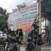 Aksi TNI Copoti Baliho Rizieq Shihab karena Khawatir Munculnya Gangguan Keamanan