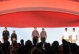 Paslon Cagub dan Cawagub DKI Jakarta Gunakan Hak Pilih