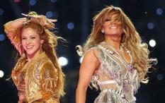Shakira dan Jennifer Lopez Meriahkan 'Super Bowl Halftime Show 2020' dengan Penampilan Spektakuler