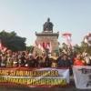 Belasan Warga Papua Deklarasi Cinta NKRI di Plaza Manahan Solo