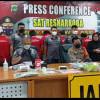 Ditangkap Polisi, 17 Pengedar Narkoba Terancam Hukuman Mati