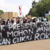 Tagih Janji Jokowi, Ratusan Petani Tembakau Demo di Dekat Istana