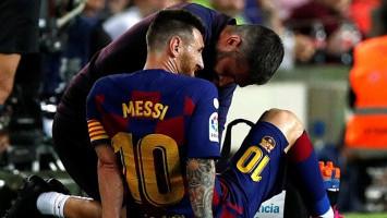 Main Sebabak, Messi Berhasil Bantu Barcelona Tekuk Villarreal