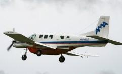 Helikopter Airfast Evakusi Korban Pesawat AMA
