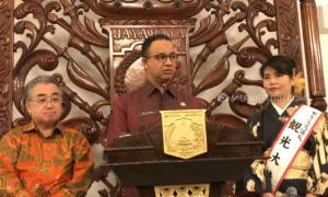 Bertemu Wali Kota Yuzawa, Anies  Ingin Wisata Jakarta Dipromosikan di Jepang