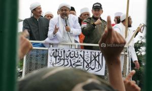 Reaksi FPI Terkait Beredarnya Tiket Kepulangan Habib Rizieq