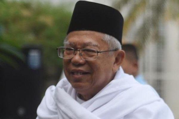 Awali Kampanye Tahun 2019, Ma'ruf Amin Sambangi Bogor