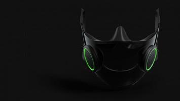 Razer Pamerkan Konsep Masker N95 dengan RGB ala Gamer