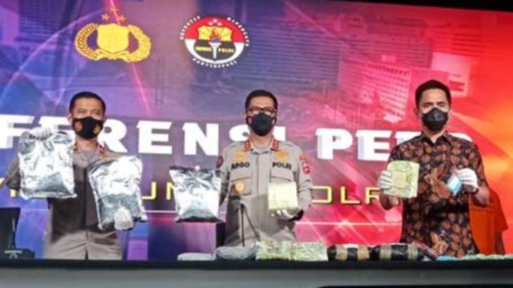 Bareskrim Bongkar Penyelundupan Narkoba dari Malaysia, Dikendalikan Tahanan