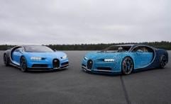 Lego Buat Replika Bugatti Chiron yang Bisa Dikendarai