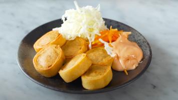 Resep Chicken Egg Roll ala Restoran Bento Terkenal