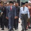 Perdana Menteri Malaysia Mahathir Mohamad Hadiri Pelantikan Jokowi