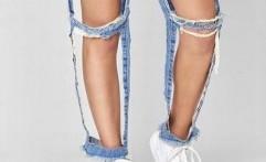 Celana Jeans Unik, Bila Tidak dapat Dikatakan Aneh