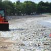 30 Ton Sampah Diangkut dari Pantai Kuta