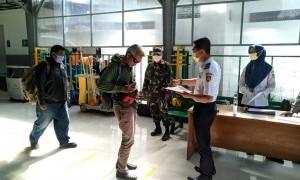 Tiba di Stasiun Purwosari Solo, Pemudik dari Bandung Langsung Masuk Karantina